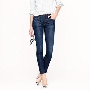 J Crew Size 30 T Dark Wash Toothpick Skinny Jeans